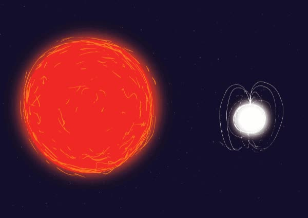 Watch ESA Redgiant-neutronstar 600w GIF on Gfycat. Discover more related GIFs on Gfycat