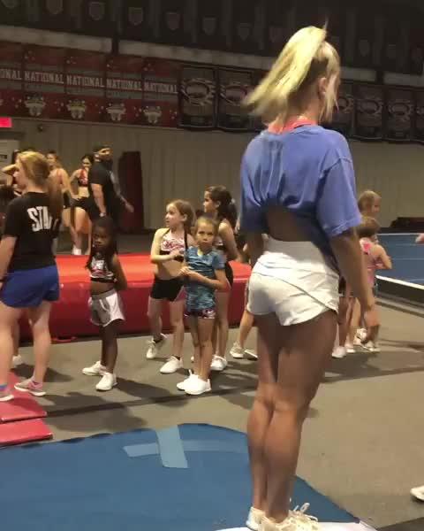 gymnast, gymnastics, karolyne day, 20s of flips and twirls GIFs