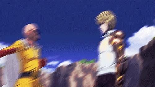 Genos (One Punch Man) vs Gaara (Naruto) : whowouldwin GIFs