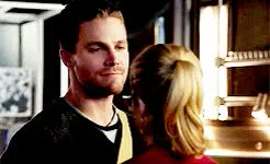 Watch I'll never ever get tired of seeing these gifs on my Tumblr  GIF on Gfycat. Discover more Arrow, CW, CWArrow, FelicitySmoak, Olicity, OlicityKiss, OliverQueen, emilybettrickards, endgame, otp, smoakqueen, stephenamell GIFs on Gfycat