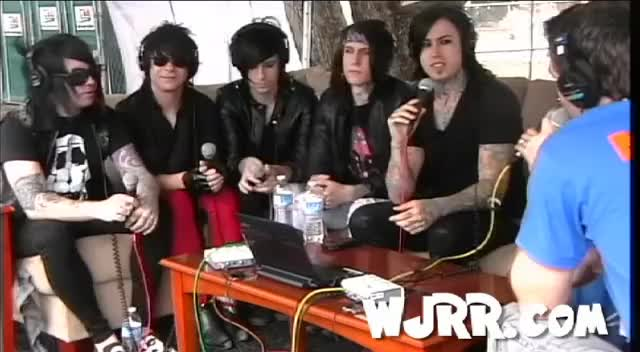 Watch and share Falling In Reverse GIFs and Jacky Vincent GIFs on Gfycat