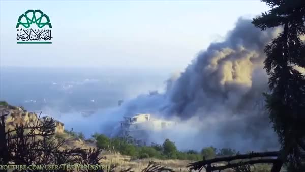 Watch Massive explosion in Syria, presumably a truck bomb (reddit) GIF on Gfycat. Discover more shockwaveporn GIFs on Gfycat
