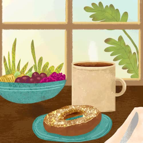 Watch this breakfast GIF on Gfycat. Discover more animation, breakfast GIFs on Gfycat