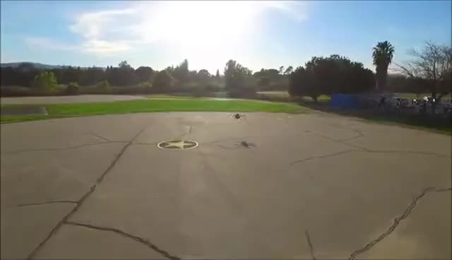 Watch and share Crop Dusting UAV Demo GIFs on Gfycat