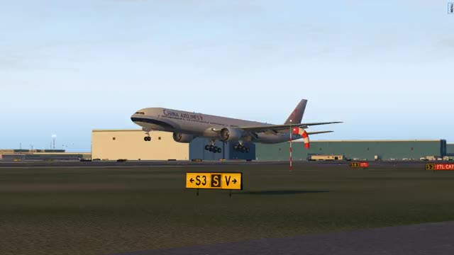 Watch and share 777-300ER Xp11 7 GIFs on Gfycat
