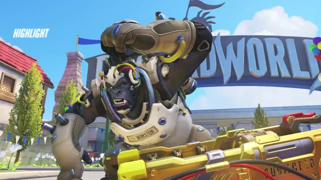 Watch brainless monkey 18-06-21 15-03-19 GIF on Gfycat. Discover more highlight, overwatch GIFs on Gfycat