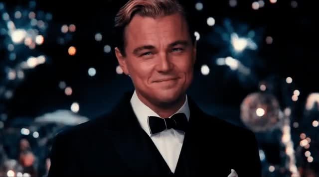 Watch this cool story bro GIF by Reactions (@sannahparker) on Gfycat. Discover more Leo DiCaprio, Leonardo DiCaprio, cheers, cool story bro, good job, great gatsby GIFs on Gfycat