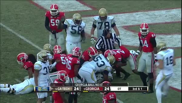 Georgia Tech vs. Georgia | 2014 ACC Football Highlights (reddit)