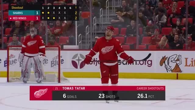 Watch Tomas Tatar shootout goal nhl GIF by @alienv on Gfycat. Discover more goal, hockey, nhl, red wings, shootout GIFs on Gfycat