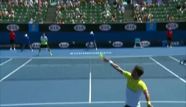 Watch and share Feliciano GIFs and Tennis GIFs on Gfycat