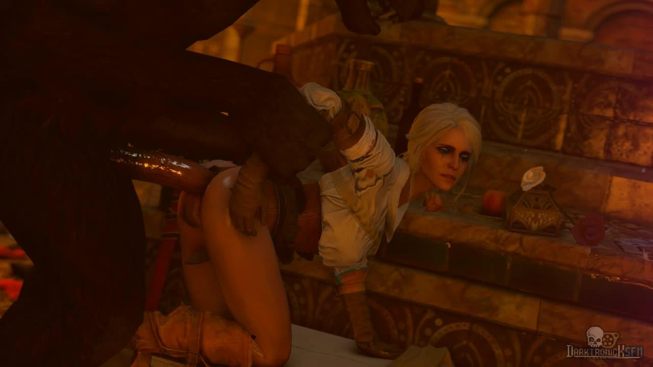 The witcher 3 ciri sex scene 2