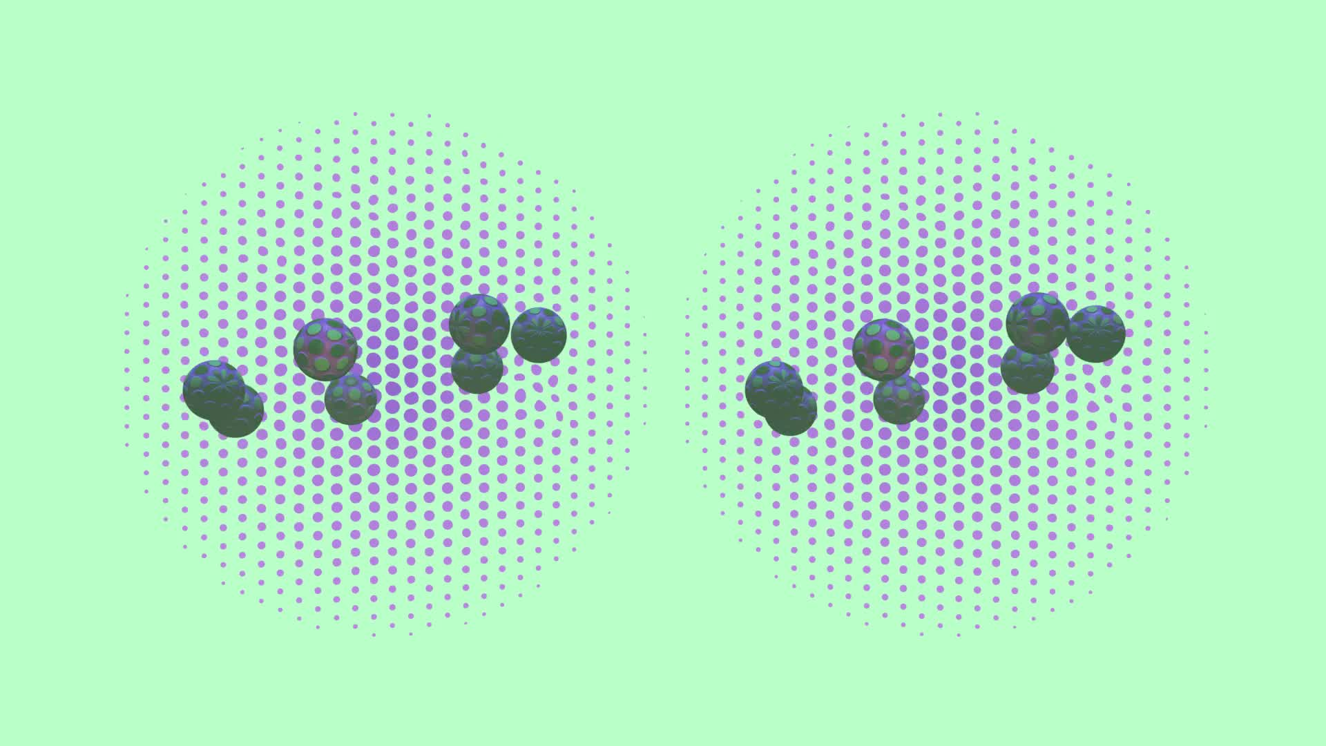 3d, amazing, blender, cinema4d, crosseye, crosseyed, crossview, illusion, loop, looping, optical illusion, rendered, stereoscopic, yt:quality=high, Stereoscopic 3d animation - crossview GIFs