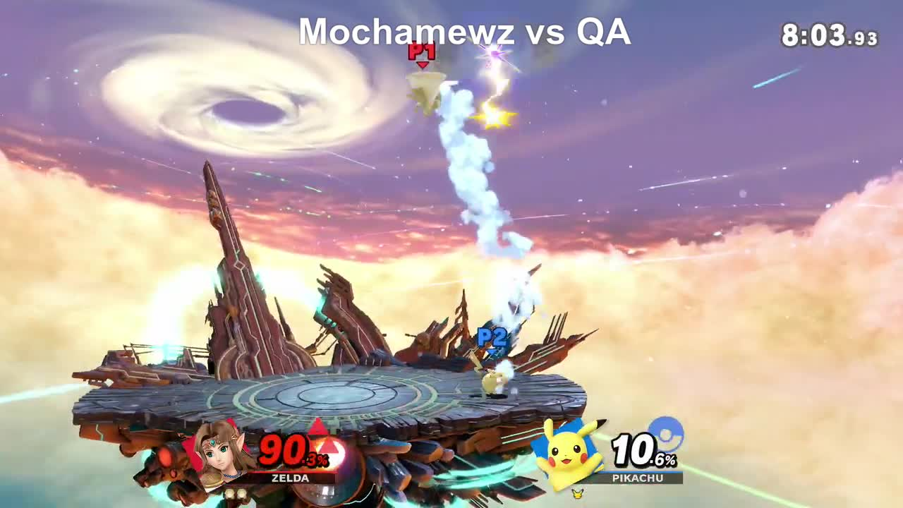 'smash ultimate', game, gaming, great, lordrenning, mochamewz, Mocha Vs Pikachu 3 GIFs