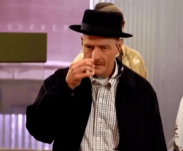 Watch and share Bryan Cranston GIFs and Breaking Bad GIFs by Reactions on Gfycat