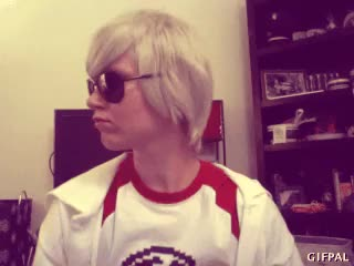 Watch TG: sup GIF on Gfycat. Discover more cosplay, dave, dave is weeb trash, dave strider, homestuck, im really bored GIFs on Gfycat