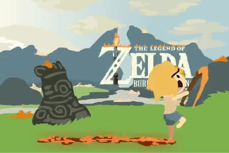 Watch and share The Legend Of Zelda: Burn Everything GIFs on Gfycat