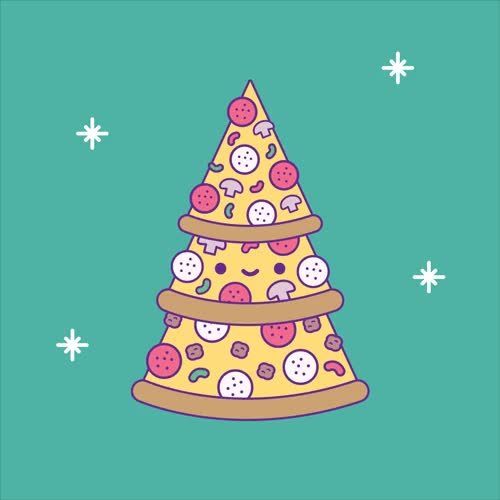 Watch this pizza GIF by GIF Queen (@ioanna) on Gfycat. Discover more celebrate, christmas, funny, holidays, hungry, jolly, lights, pizza, tree, winter, xmas GIFs on Gfycat