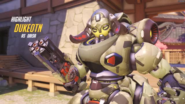 Watch Orisa ~ Highlight GIF by DukeOTN (@dukeotn) on Gfycat. Discover more highlight, orisa, overwatch GIFs on Gfycat