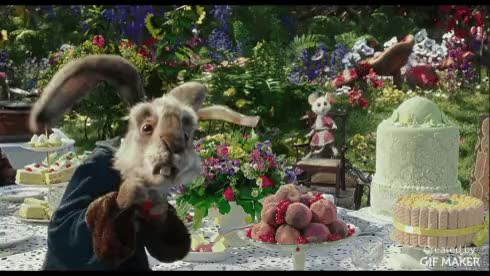 Watch Alice Through the Looking Glass GIF by @familymovies on Gfycat. Discover more animalgifs, gifs, movies GIFs on Gfycat