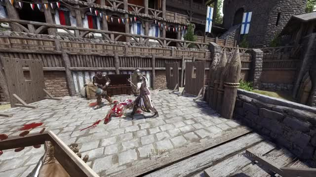 Mordhau's duel servers have players lining up to do a polite