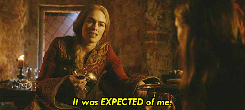 cersei lannister, game of thrones, lena headey, Cersei Sansa Game of Thrones GIFs
