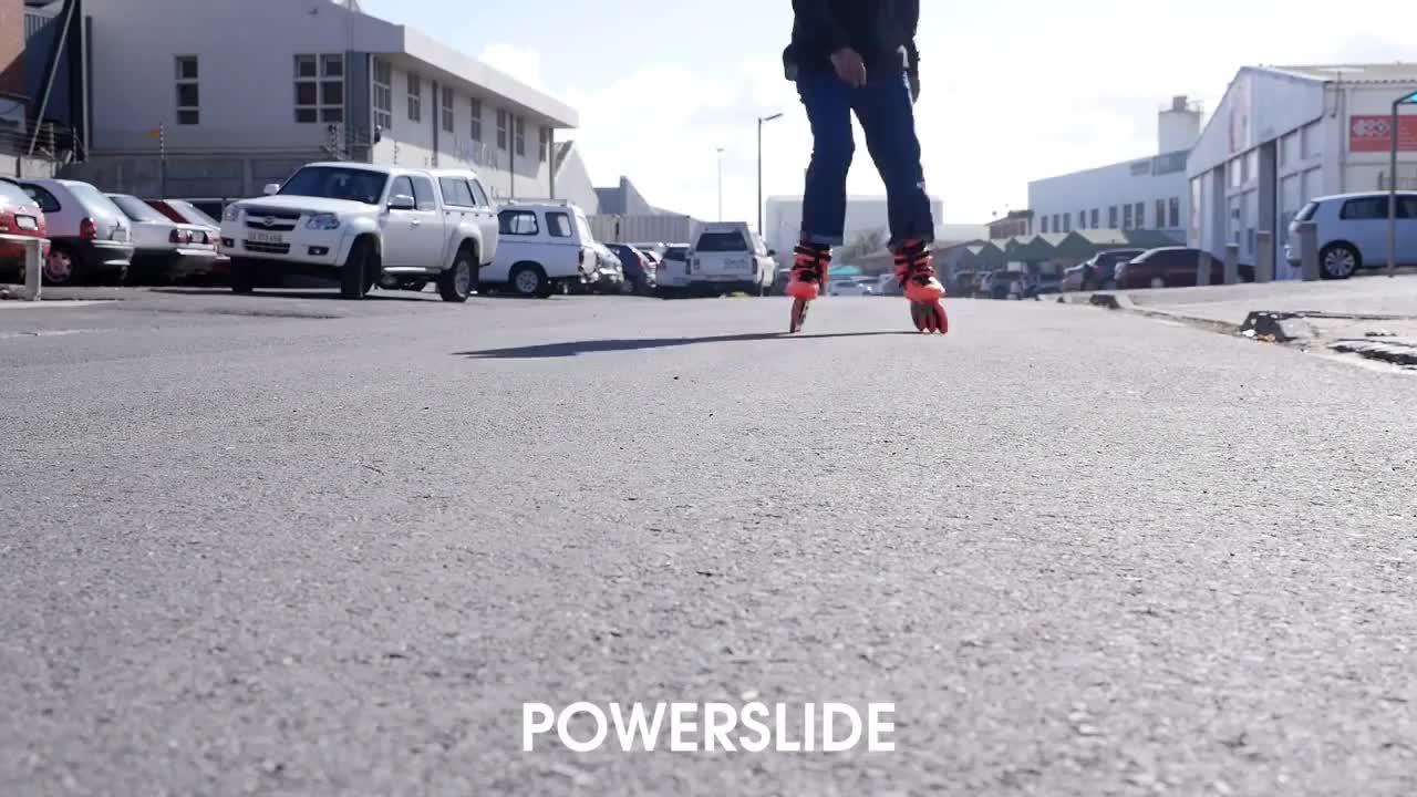 Inline, powerslide, roller, rollerblading, skating, sliding, triskates,   GIFs