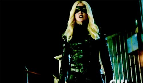 "Watch "" ""I'm the justice you can't run from"" - Black Canary/Dinah Laurel Lance "" GIF on Gfycat. Discover more related GIFs on Gfycat"