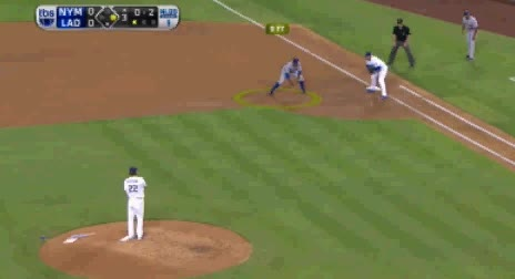 Watch and share Clayton Kershaw Strikes Out David Wright GIFs by jsulliv6 on Gfycat