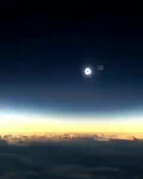 The Sun's corona extends millions of kilometers into outer space and are easily seen during a total solar eclipse GIFs