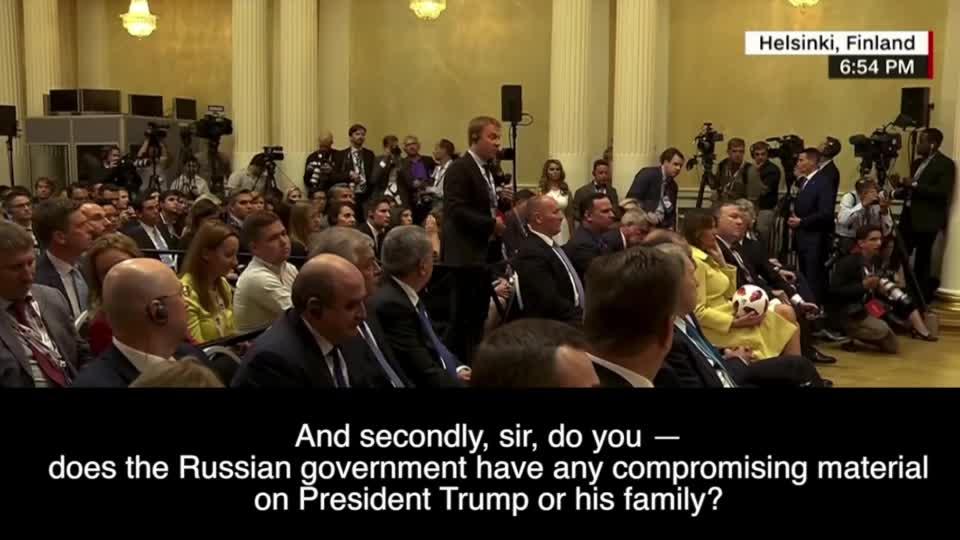 Kompromat, Putin, trump, vladimir putin, Just watch Trump's face - they own him. GIFs