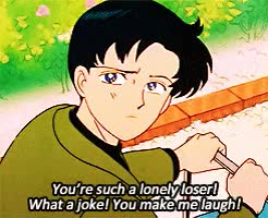 Watch carnivore incarnate GIF on Gfycat. Discover more YOU'RE SUCH A LONELY LOSER, and the one where he punts her and where she slaps him on her birthday, are prob my top three of all time for these two, endymion x serenity, endymionxserenity, gif sailor moon, lmao, mamoru chiba, mamoru x usagi, mygif, sailor moon, sailormoonedit, this scene, usagi tsukino GIFs on Gfycat