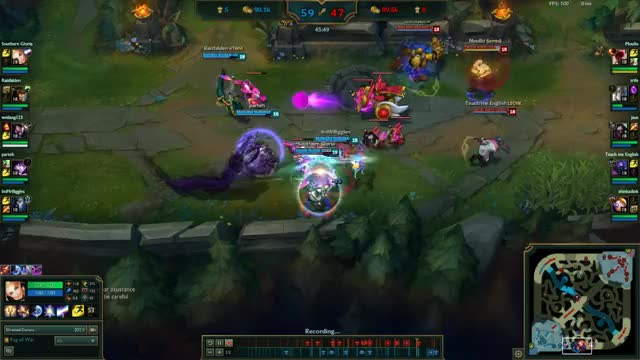 Watch and share Kindred Penta Kill! S+ GIFs by immrbiggles on Gfycat