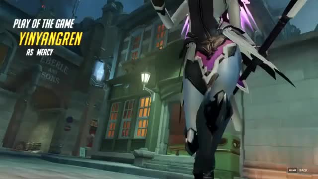 Watch and share Overwatch GIFs and Mercy GIFs by yinyangren on Gfycat