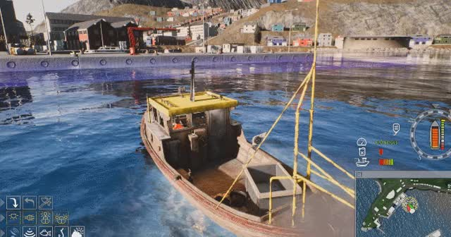 I love this commercial fishing simulator, and not just