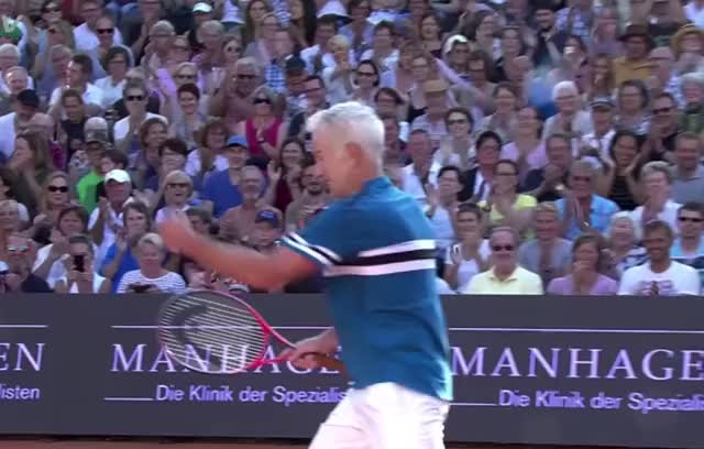 Watch and share John Mcenroe GIFs and Celebration GIFs by Grower of GIFs on Gfycat