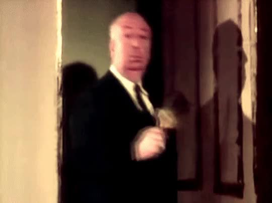 Watch and share Alfred Hitchcock GIFs and Until Next Week GIFs by Bob on Gfycat