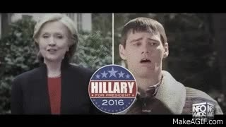 Watch Gagging on Hillary 2016! GIF on Gfycat. Discover more jim carrey GIFs on Gfycat