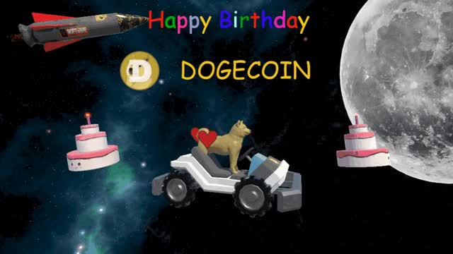 Watch and share Dogecoin 6 Bday GIFs on Gfycat