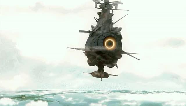 Watch The Yamato goes to Iscandar [Uchuu Senkan Yamato 2199] (reddit) GIF on Gfycat. Discover more animegifs GIFs on Gfycat