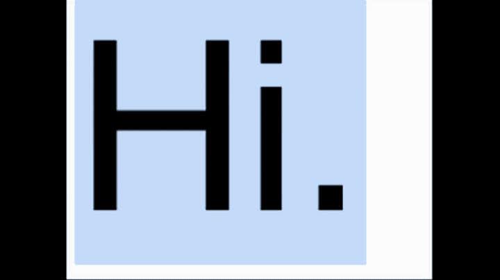 bill wurtz, hello, hi, unboxing video, Hi GIFs
