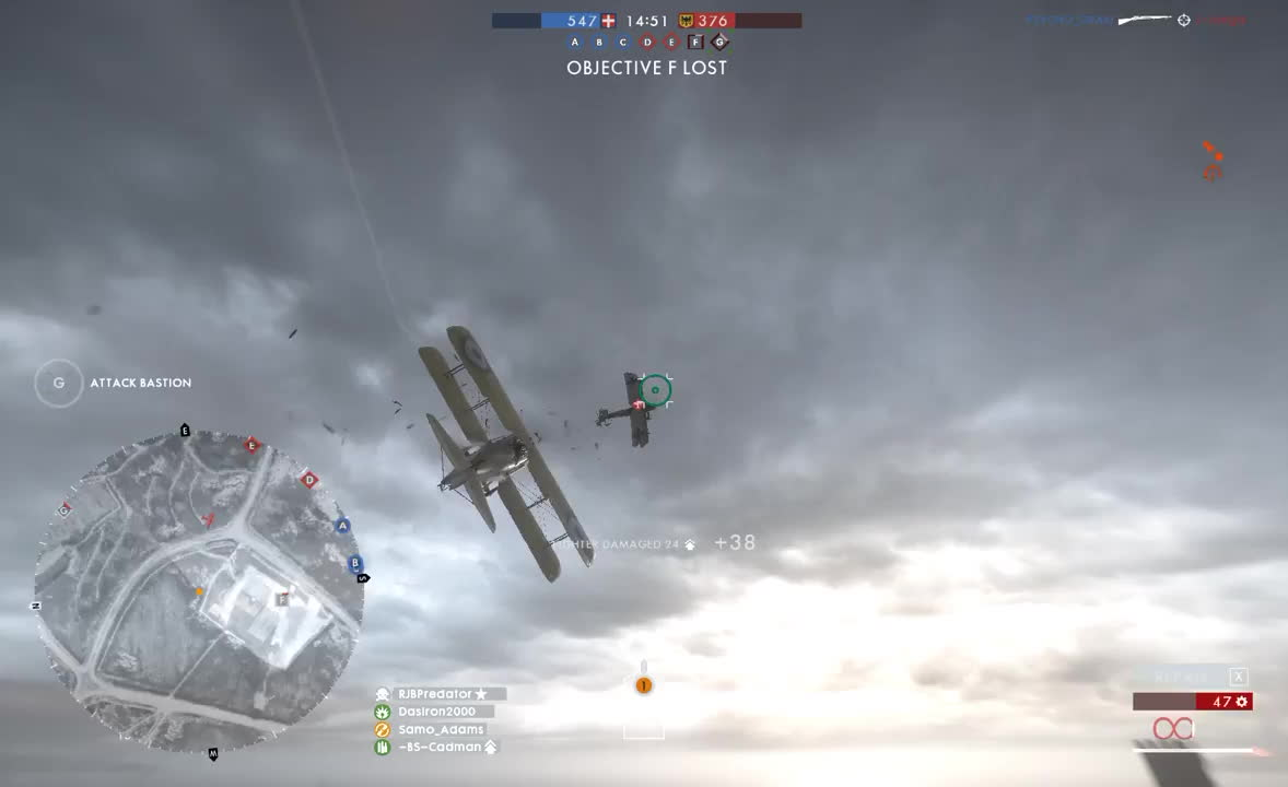 battlefield, battlefield_one, bf1, You ruined my dogfight, well then! GIFs