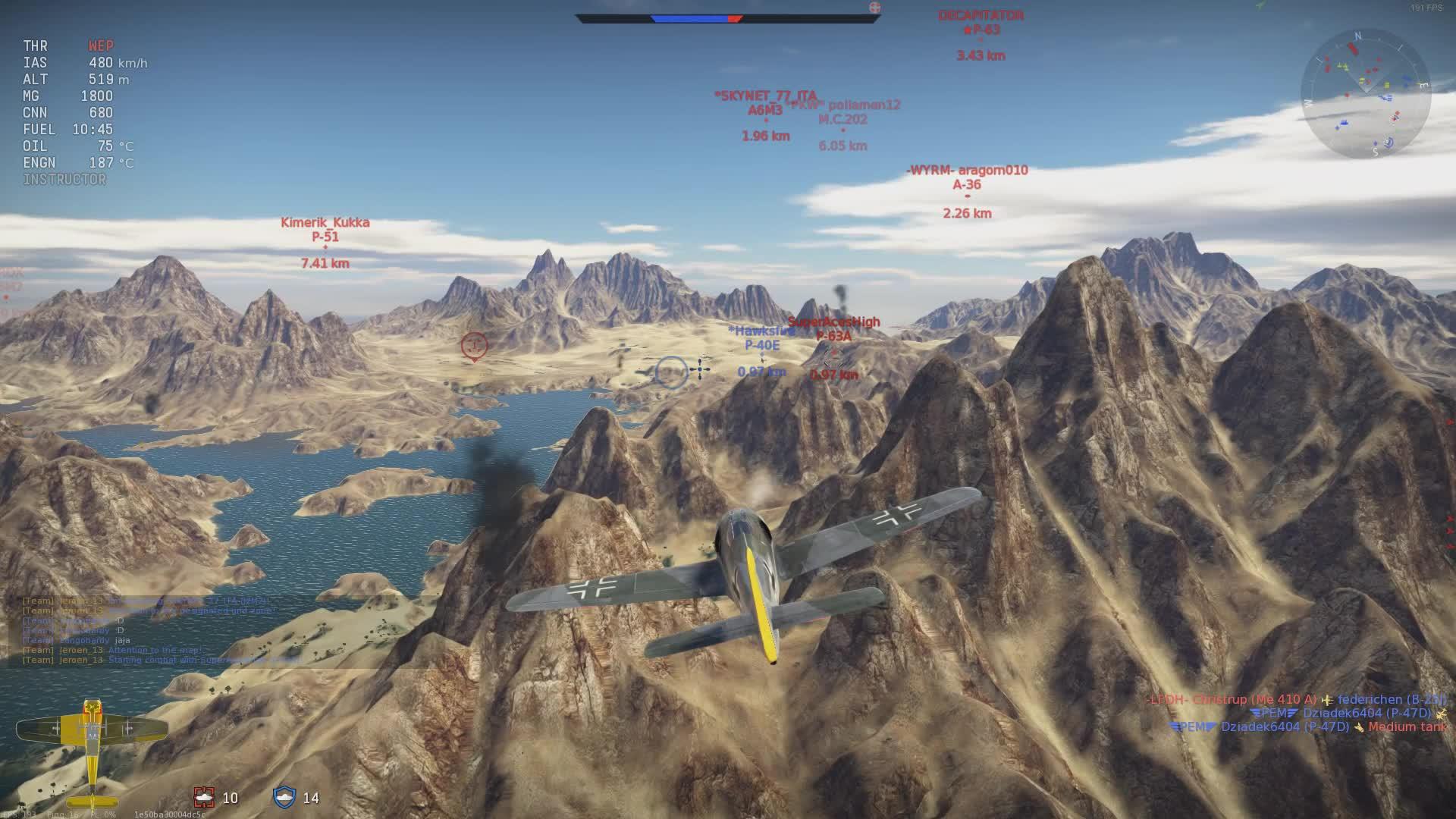 EZPZ, FW109F4, warthunder, Quick 3K Warthunder GIFs