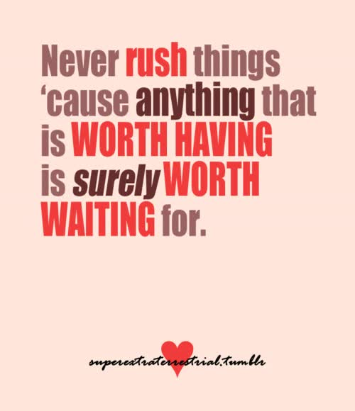 Love Worth Waiting For Quotes Gif Find Make Share Gfycat Gifs