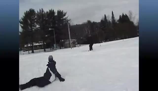 Watch and share Cross Country Skiing FUNNY FAIL - HD GIFs on Gfycat