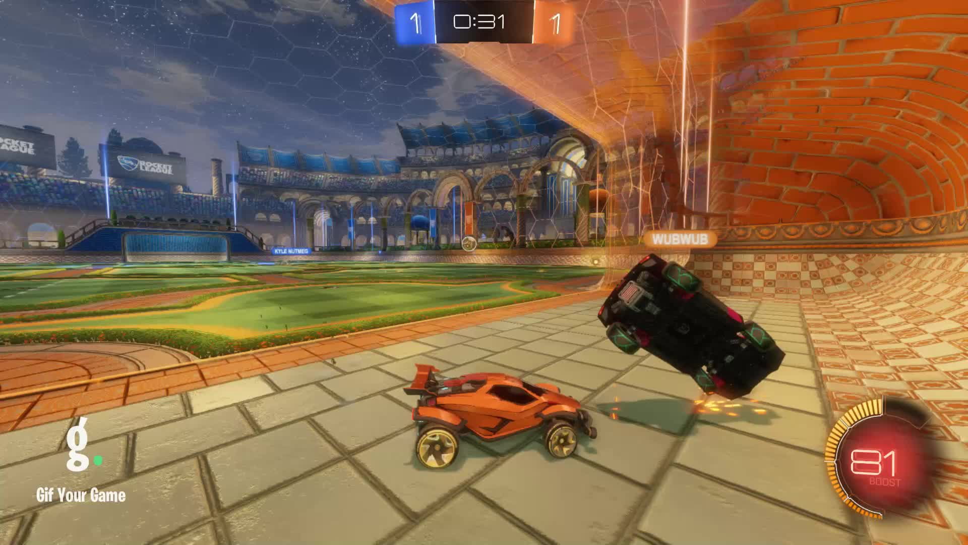 Gif Your Game, GifYourGame, ItWas...Justified, Rocket League, RocketLeague, Save, Save 10: ItWas...Justified GIFs