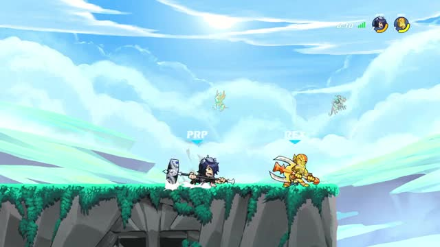 Watch and share Playstation 4 GIFs and Brawlhalla GIFs by prpldrgns on Gfycat