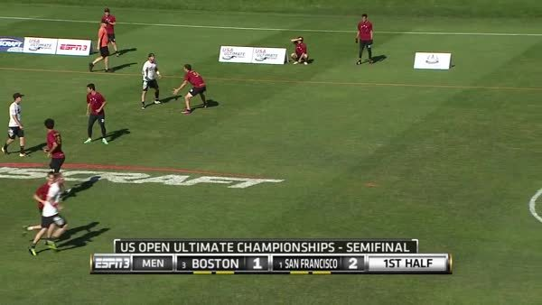ultimate, ultimategifs,  Stubbs left handed air bounce backhand pass to flick force side GIFs