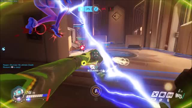 """Watch """"Shooters Perspective"""" GIF by EDGE (@edge-1999) on Gfycat. Discover more Overwatch, gaming GIFs on Gfycat"""