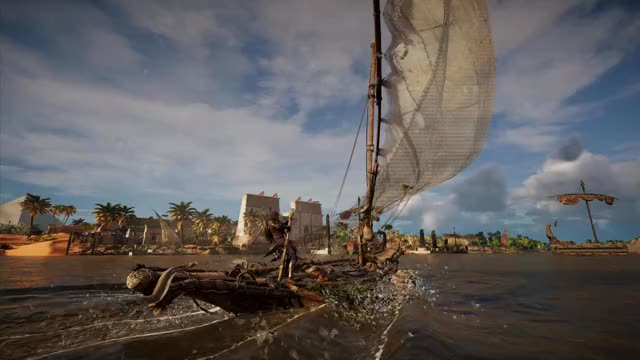 Watch and share Assassin's Creed GIFs and Origins GIFs by threepquest on Gfycat