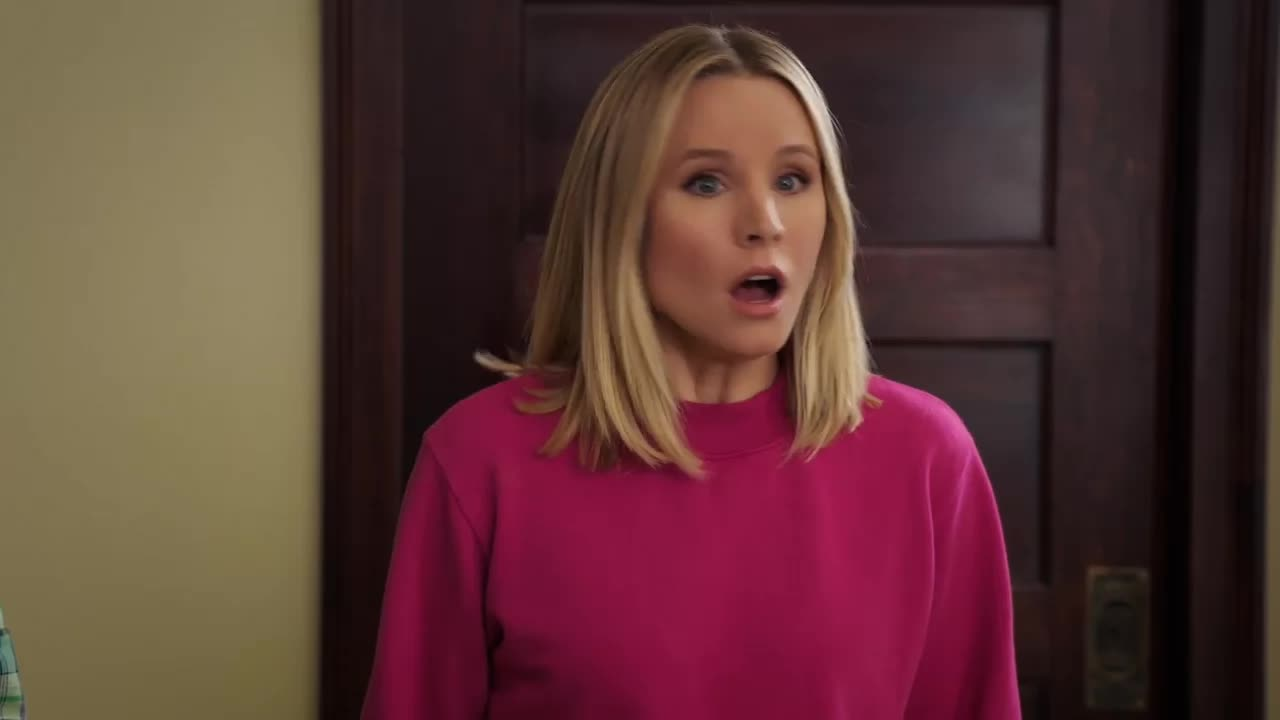 kristen bell, s03e09 janet(s), the good place, holy forking shirtballs GIFs